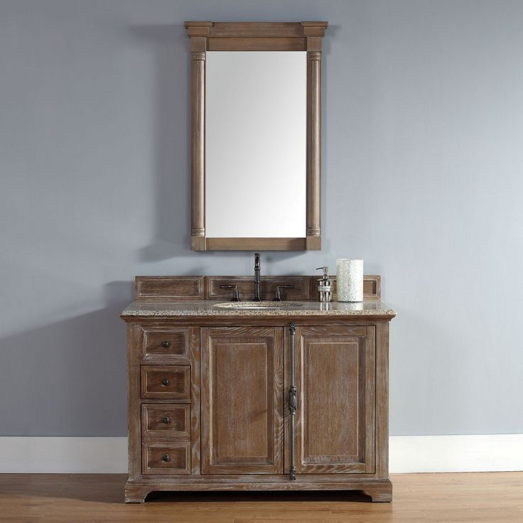 Providence 48 Traditional Single Sink Bathroom Vanity Driftwood By James Martin Model
