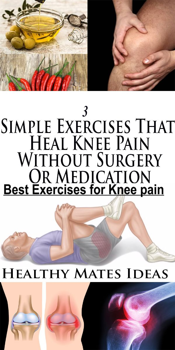 3 Simple Exercises That Heal Knee Pain Without Surgery Or Medication!