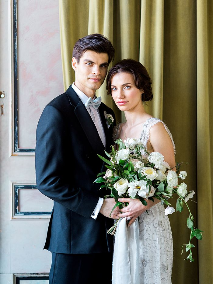Vintage High Society New York Wedding Inspiration    #wedding #weddings #fineartweddings #weddingideas #filmphotography #vintagewedding #brideandgroom #weddingphotos #portraits #bouquet #weddingdress
