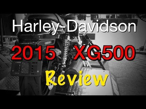 2015 Harley-Davidson XG500 Review - YouTube