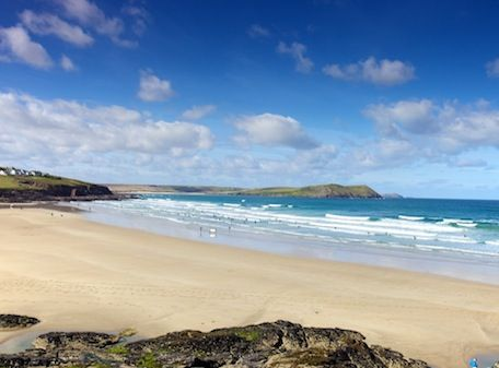 Polzeath Beach, Cornwall. Breathtaking!