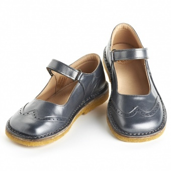 Pepe, steel velcro Mary Janes for girls