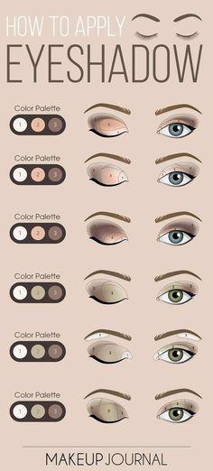 Augen Make-up ist ein wichtiger Bestandteil Ihres makellosen Aussehens. Also, bevor du gehst