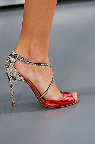 Spring 2012 shoe from London Fashion Week