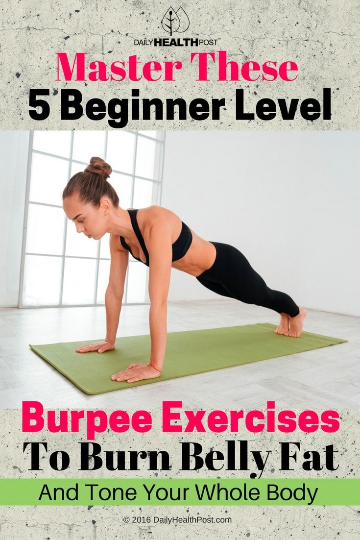 The�burpee�is one of the most effective fat burning exercise you can do at home using nothing but your own bodyweight.