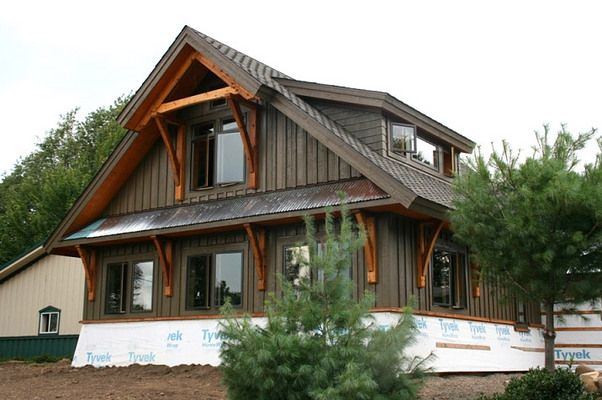 127 best images about ideas for the house on pinterest - Rustic home exterior color schemes ...