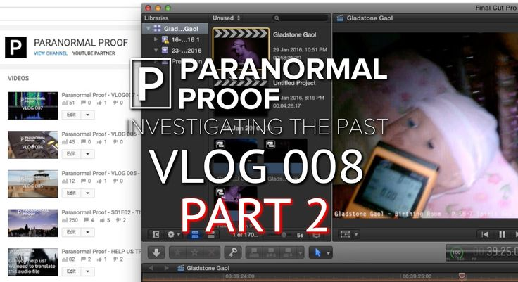 Paranormal Proof -VLOG 008b - Isolated Class A EVP