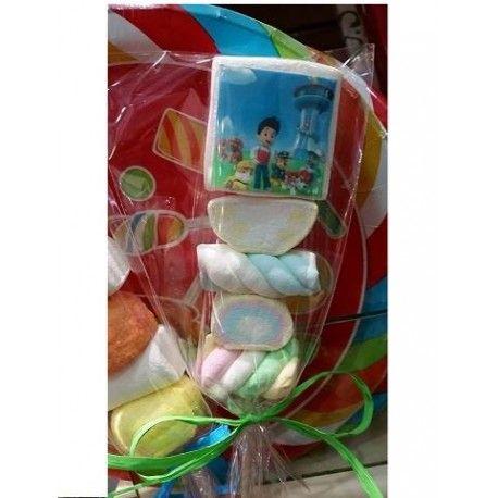 Acquista su Arcobaleno Party lecca lecca paw patrol marshmallow    lecca lecca personalizzabile con immagine e scritte.