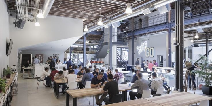 Pinterest Headquarters / All of the Above + First Office + Schwartz and Architecture