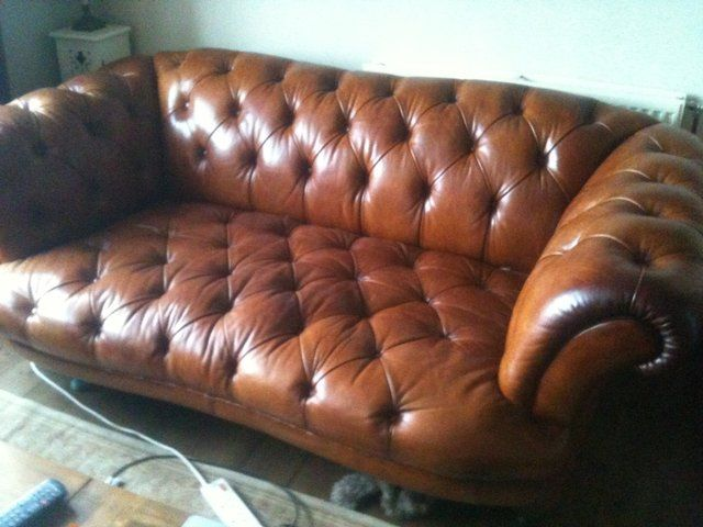 Dfs Leather Chesterfield Sofa For Sale Ideas For The