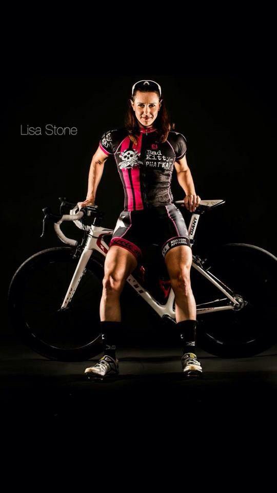 Bad Kitty Meow Phat Kat Racing Team! - cyclists: Lisa stone https://www.facebook.com/Badkittymeow