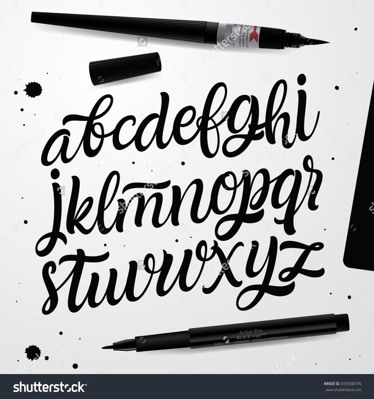 brush lettering alphabet 25 best ideas about script alphabet on 20686 | ff9c7042847eba8a4b35876019646043
