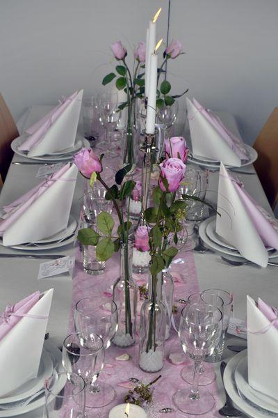borddækning konfirmation pink - Google-søgning