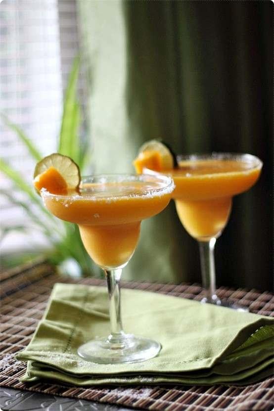 Mango Margaritas | Cocktails | Pinterest
