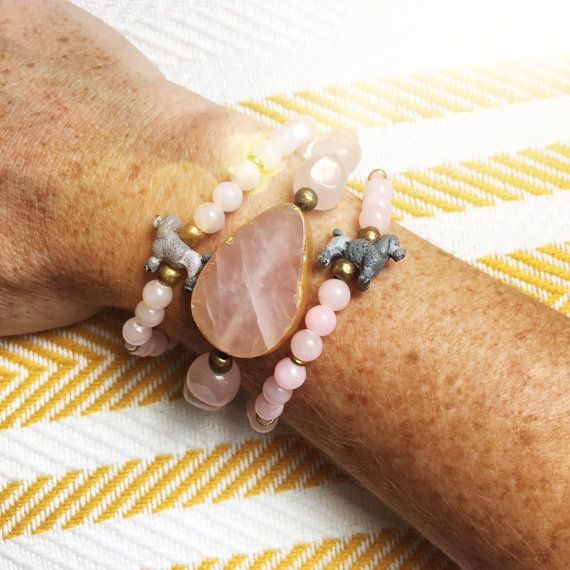 The Pink Poodle Bracelet! 100% is donated to the Florida Poodle Rescue #shopforacause #giftsthatgiveback