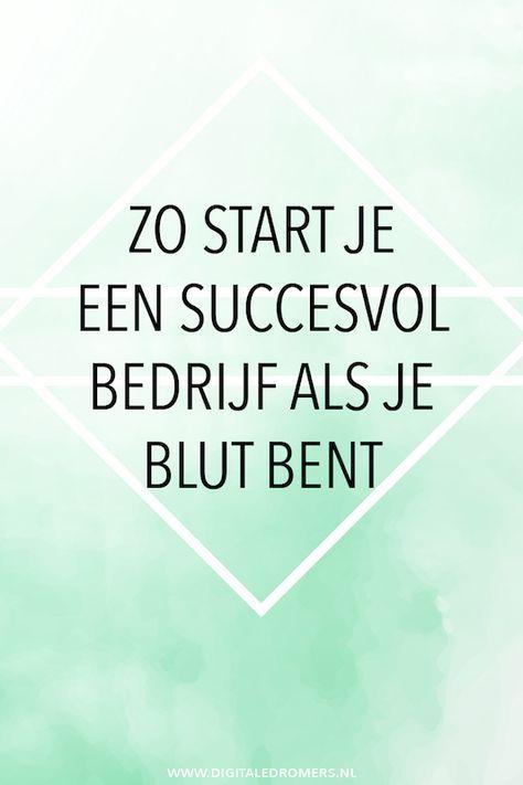 Wil je graag een bedrijf beginnen, maar ben je zo goed als blut? Geen probleem, ook met weinig geld kun je een succesvol bedrijf beginnen.