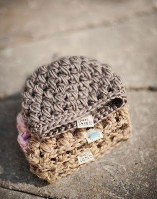 Puffy Preemie Hat Crochet Pattern via My Favourite Things
