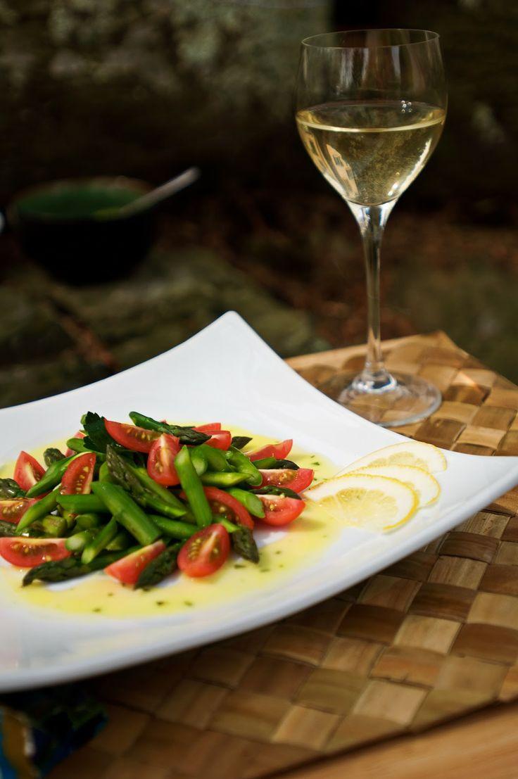 Lemon-Tarragon Asparagus