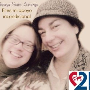 Eres mi apoyo incondicional #WDSD14 #DMSD14