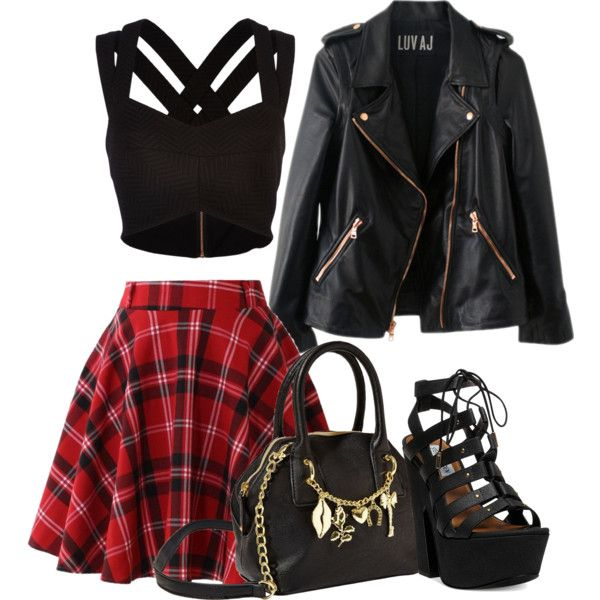 Skater girl clothes polyvore