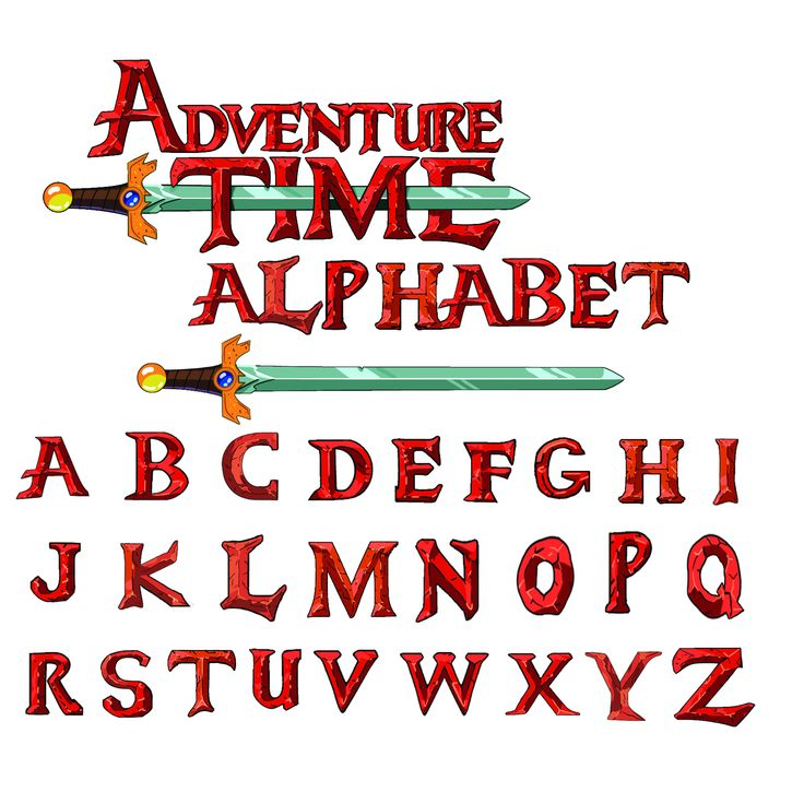 Adventure Time free font Alphabet by ~Ask-Angelo on deviantART - just in case the link goes to the photo heres the download link: http://ask-angelo.deviantart.com/art/AT-font-Alphabet-322432506