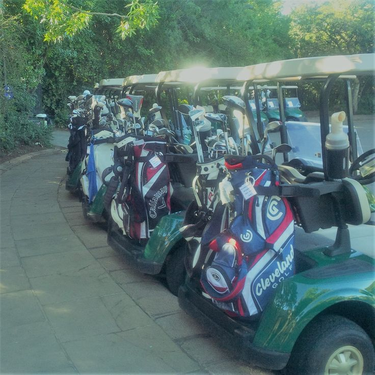 SAGolfing.com have 50 sets of 5 star golf clubs that are available to our clients. We are able to provide our clients with a set of golf clubs that best suit his/her game and handicap. Our sets include Cobras, Pings, Adams, King cobras, Titliests, Taylormades and Wilsons. Our sets consist of right handed men's clubs, left handed men's and right handed Ladies.