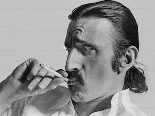 Frank Vincent Zappa Doing Nicotine ...