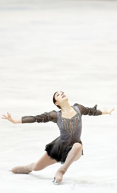 ISU World Figure Skating Championships 2013 in London, Women gold medalist Yuna Kim from South Korea.