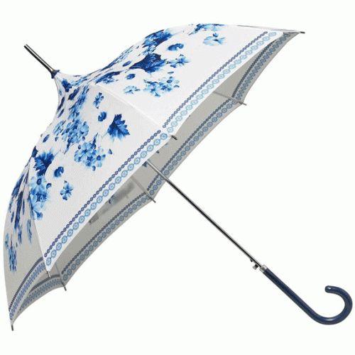 Walking in the rain (Copenhagen Floral Pagoda Umbrella)