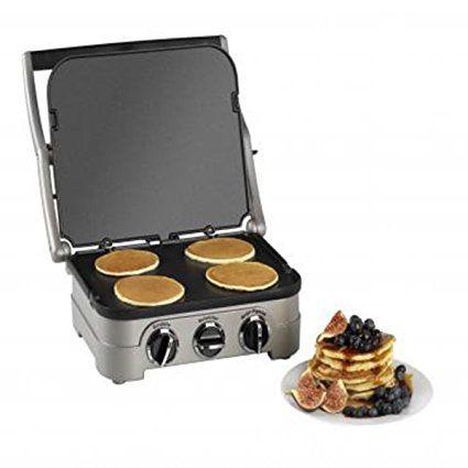 Amazon.de: Cuisinart Multifunktions-Grill mit Kochplatte GR4CU