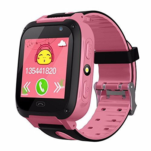 #Hype Smartwatch For Kids | For Android IOS Iphone | Kids Smartwatch With GPS Tracker | SOS Message Call For Parents | Timer Alarm Clock Tracking Monitoring Emergency Call Text SIM Camera | Boys Girls