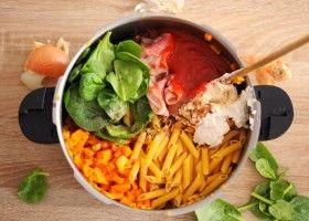 Le one pot pasta aux jambon et potiron du livre petit plats magique