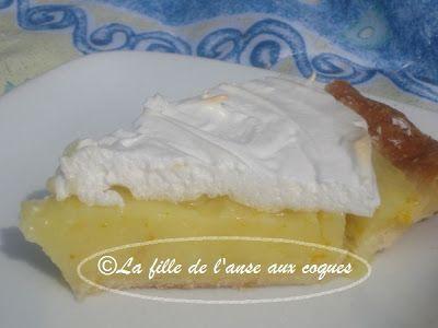 Depuis fin janvier que je vousoffre des desserts testés à base de citron Meyer, et je ne vous aipas encoreprésenté de tarte! J'adore l...