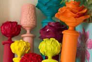 Neon Curtain Rods!: Paintings Curtains, White Curtains, Bright Color, Curtains Rods, Curtain Rods, Thrift Stores, Sprays Paintings, Girls Rooms, Kids Rooms
