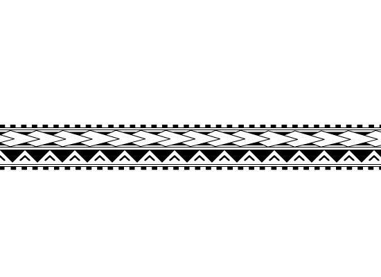 Polynesian Arm Band Tattoo by xSiiANA.deviantart.com on @deviantART