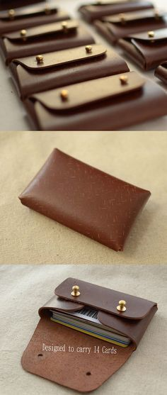 This is a wallet designed to keep your coins and cards. It is handmade, not something comes from manufacturer,made it with a minimalist idea.