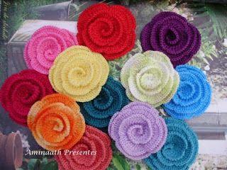 Вяжем романтические цветы. Обсуждение на LiveInternet - Российский Сервис Онлайн-Дневников