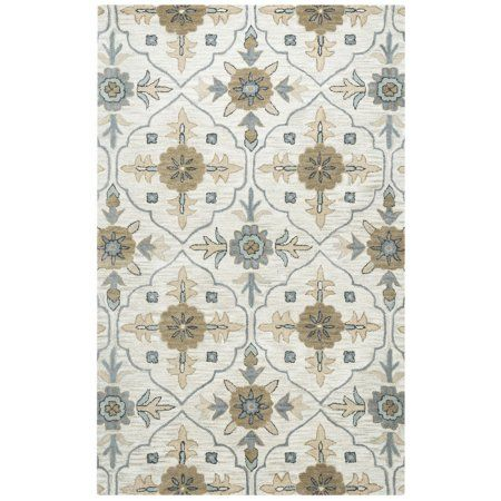 Rizzy Home Valintino Woolen Rug In Taupe Color 9'x12', Gray