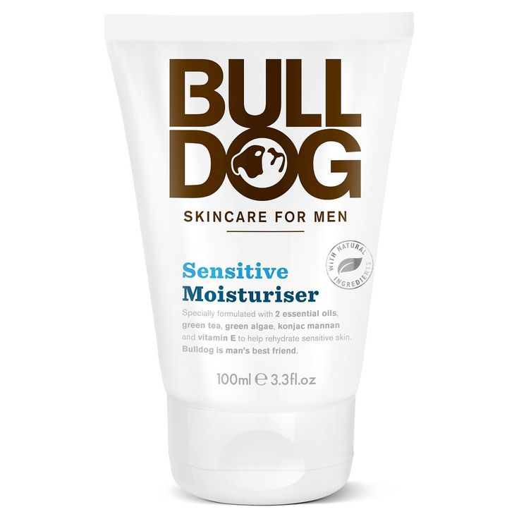 Bulldog Sensitive Moisturiser - 3.3 oz