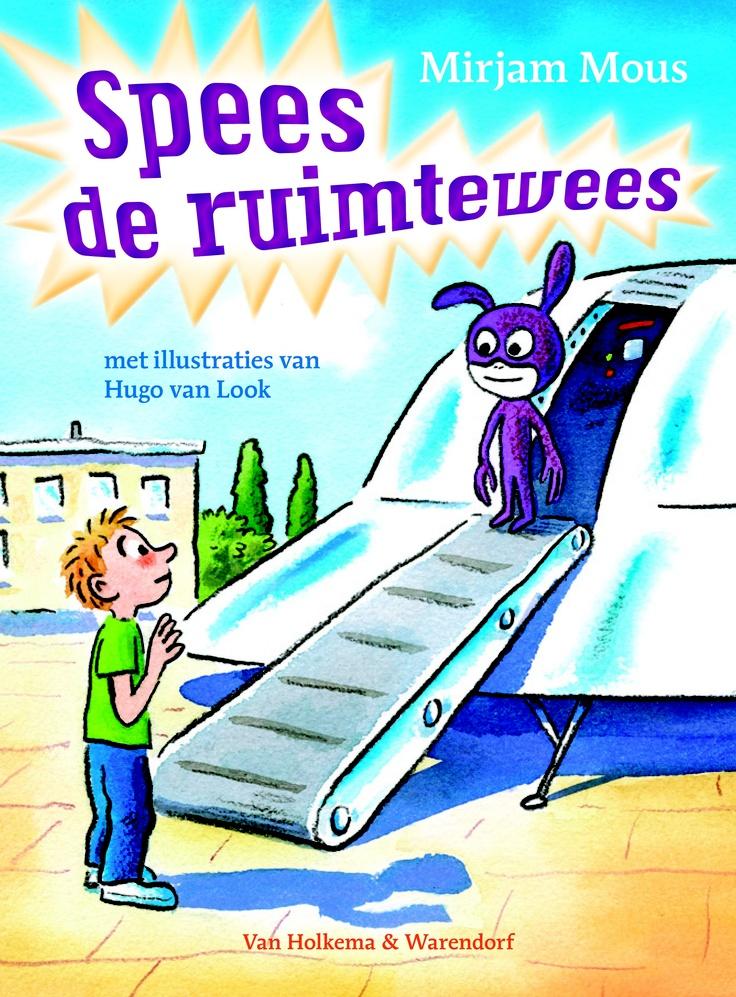 Voor groep 5  Er landt een ruimteschip op school.. Dit boek is een mooie aanleiding om  te praten met kinderen over vluchtelingen in ons land.    Spees de ruimtewees - Mirjam Mous