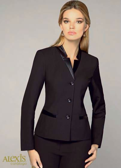 Traje sastre on Pinterest | Suits, Work Wear and Jackets