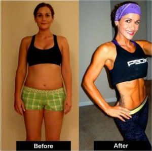Amazing P90X results! You CAN do it too!