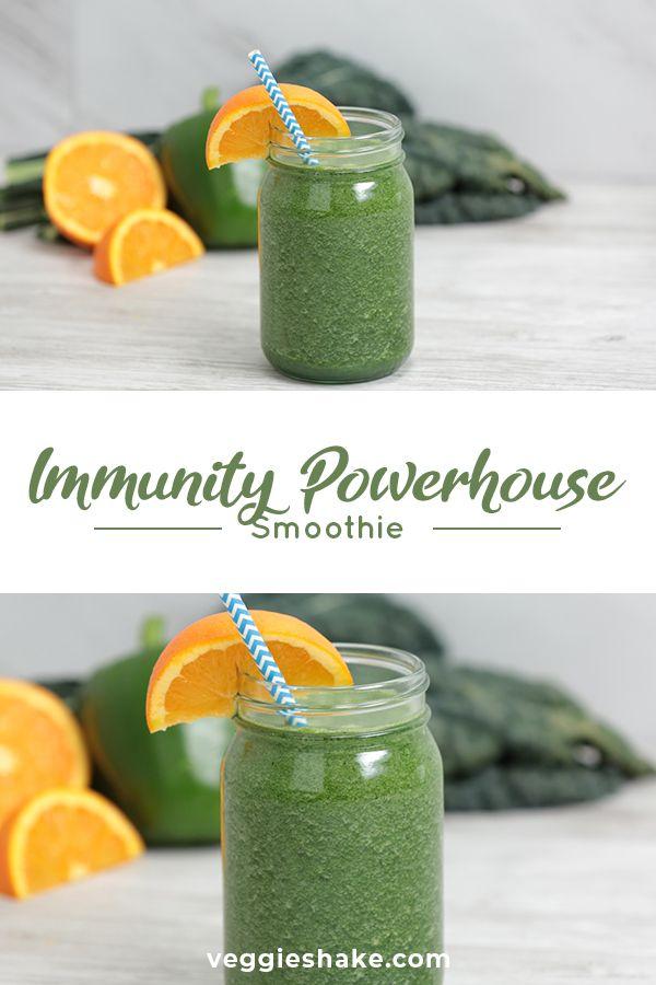 Immunity Powerhouse Smoothie Veggieshake Recipe Immune Boosting Smoothie Immunity Smoothie Immune System