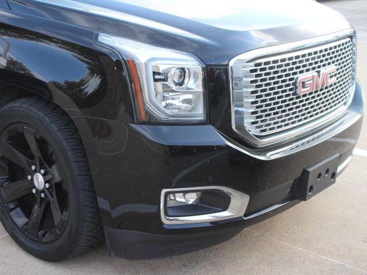 Used Black 2015 GMC YUKON XL Denali for sale in Richardson Texas VIN: 1GKS1JKJXFR254907 | LemonFree.com