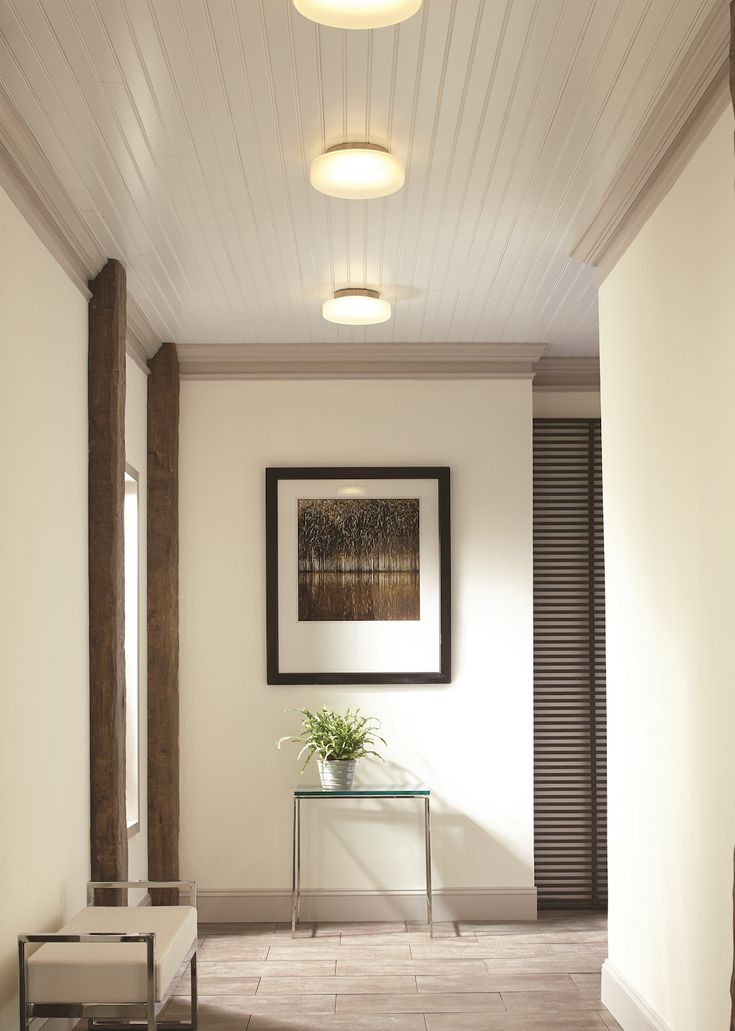 The Vessa Flush Mount Ceiling Light Features An LED For Maximum Energy Efficiency And A