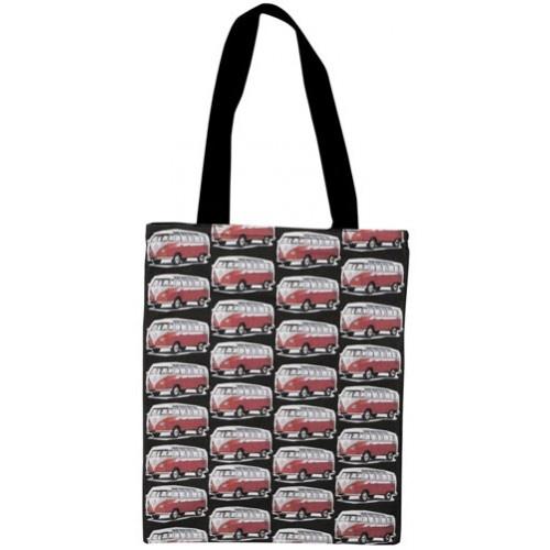 Red Kombi Vans Tote Bag from Sarah J Home Decor. $34.95