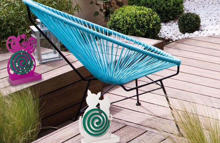 MIAtwist: i porta zampironi per il tuo giardino! #arredo #casa #giardino #farfalla #gatti