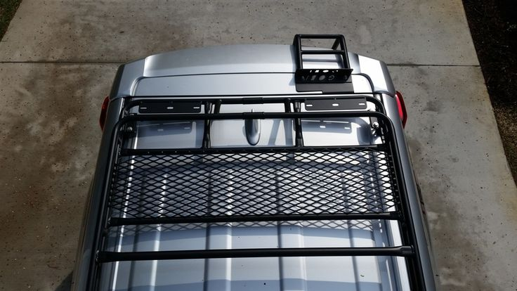 DIY Gobi Stealth Roof Rack/Ladder Install Toyota