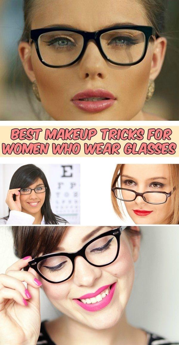 Best makeup tricks for women who wear glasses - WomenIdeas.net