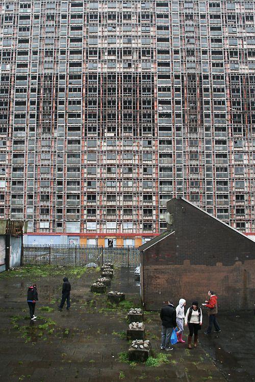 Glasgow Scotland 2013 Red Road Flats, Glasgow